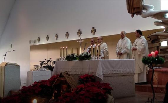 celebración santa misa