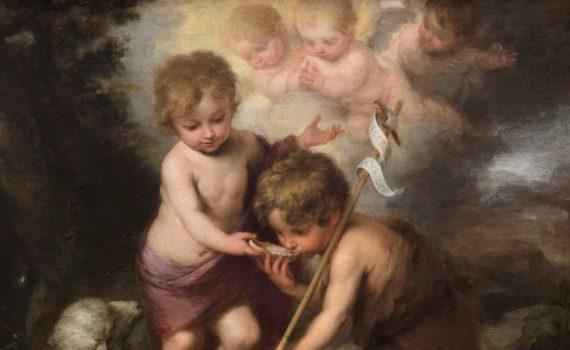 Niño Jesús y san Juanito