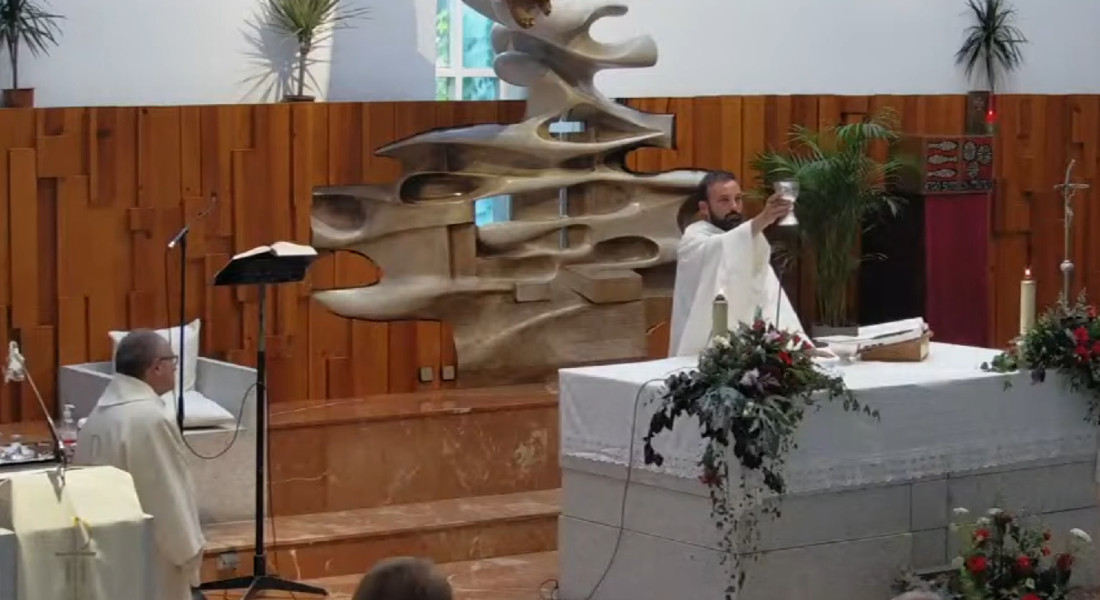 Ampliamos el horario de misas del domingo